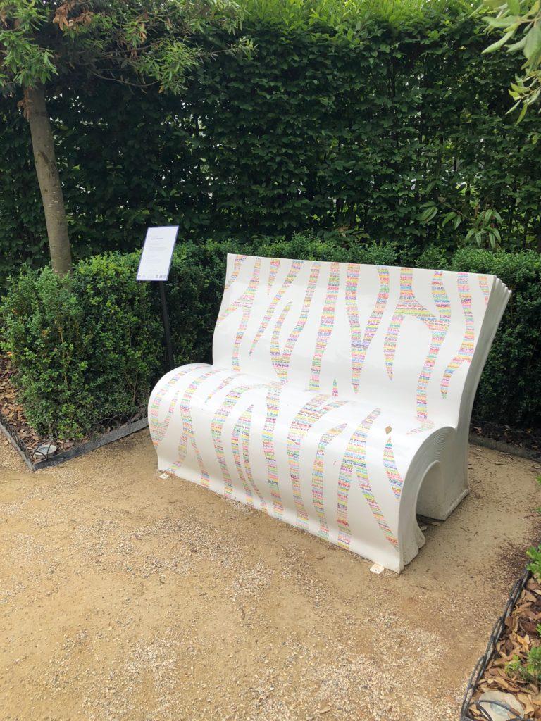 Le zèbre Alexandre Jardin par l'artiste Léna Picto